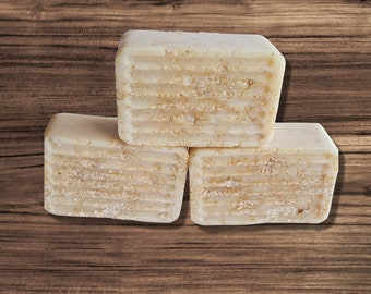 Sensitive Skin Facial Cleansing Bar with Oatmeal, Moisturizing  Eczema Skin Cleanser, Soap Free , Acne Face Wash