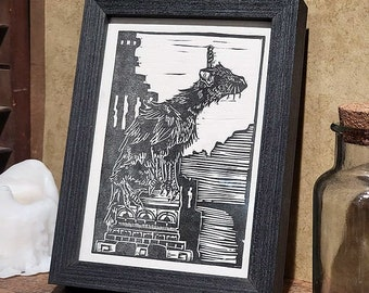 The Last Guardian: Trico   Shadow of the Colossus   Trico Fine Art