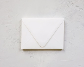 Superfine Soft White A6 Envelope