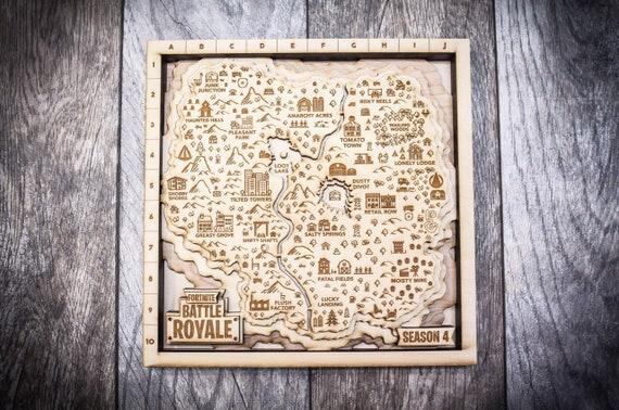 fortnite season 4 map