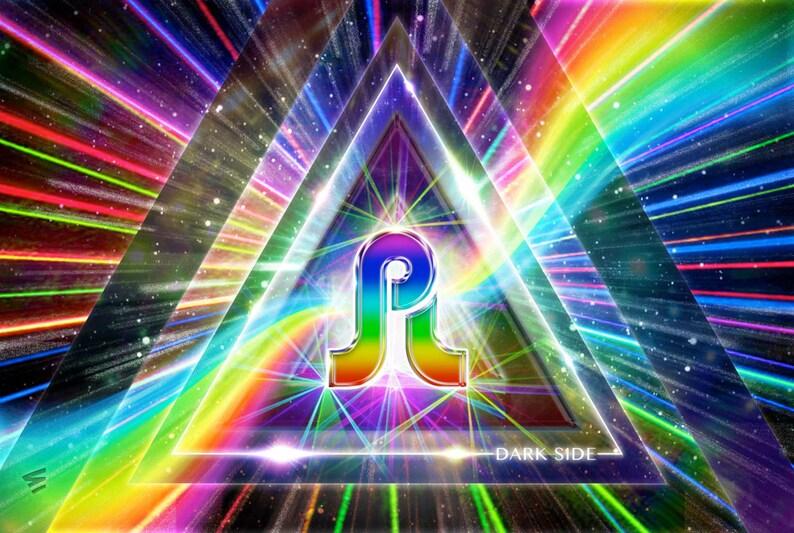 Pretty Dark Side (Pretty Lights + Pink Floyd inspired poster)