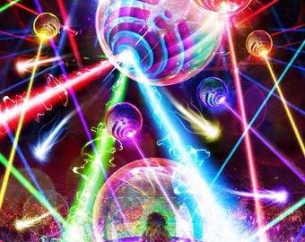 Bassnectar 360 New Years Eve 2015 Poster (Limited  50)