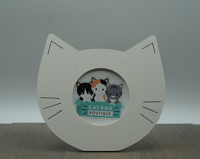 Cat Head Picture Frame