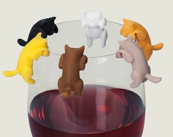 Wine Glass Marker- Paws Off™