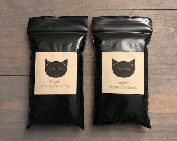 Organic Wheatgrass Seeds (Non-GMO) Double Pack