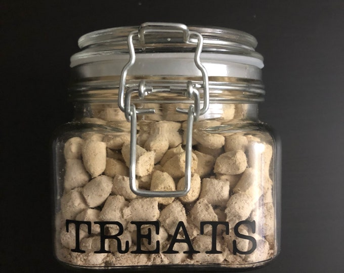Pet Treat Jar