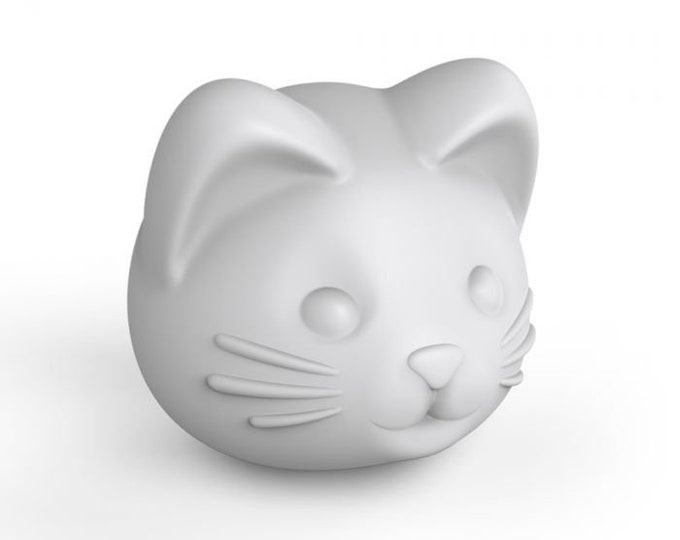 Cat Head Ice Mold