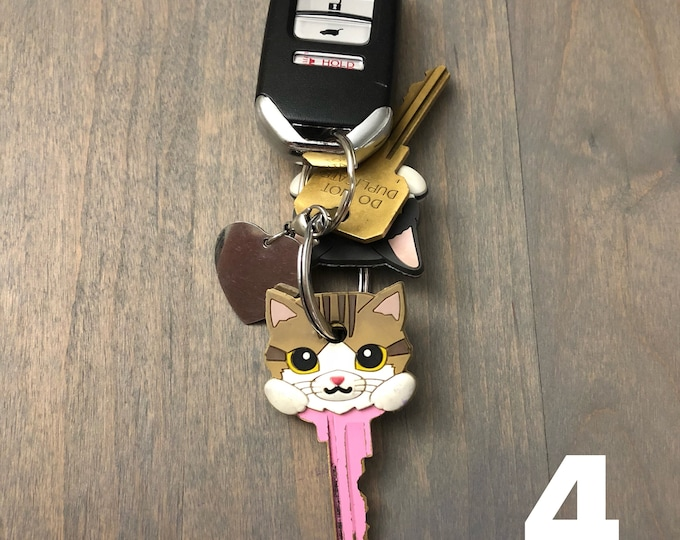 Cat Themed Key Topper