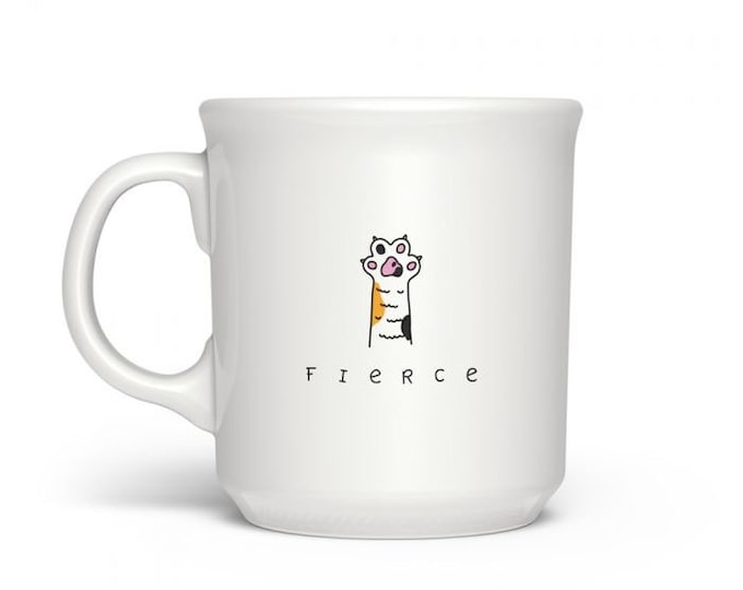 Cat Mug- I'm Fierce!!!