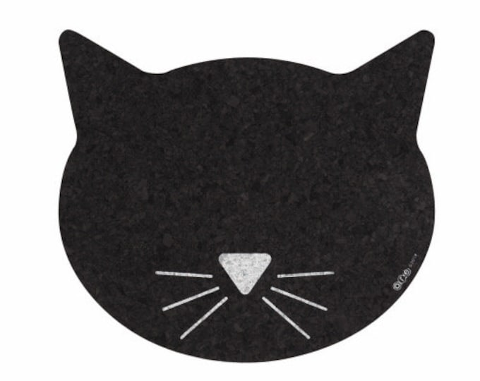 CatHead Recycled Rubber Food Mat