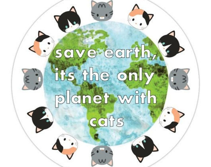 Sticker- Save Earth