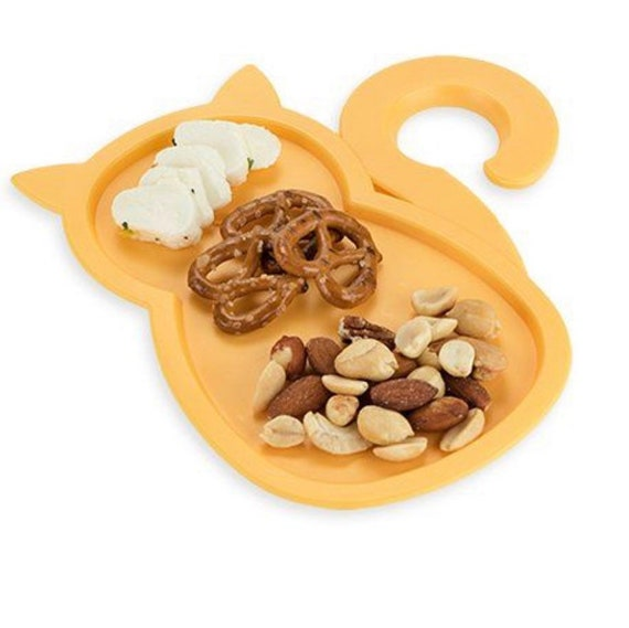 Cat Party Plates, Set of 4