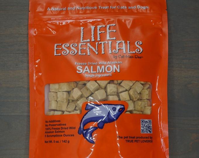 Organic Freeze Dried Salmon Cat Treats