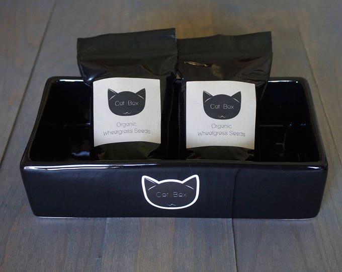 Organic Wheatgrass Gift Set