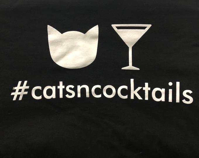 Women's #catsncocktails T-Shirt