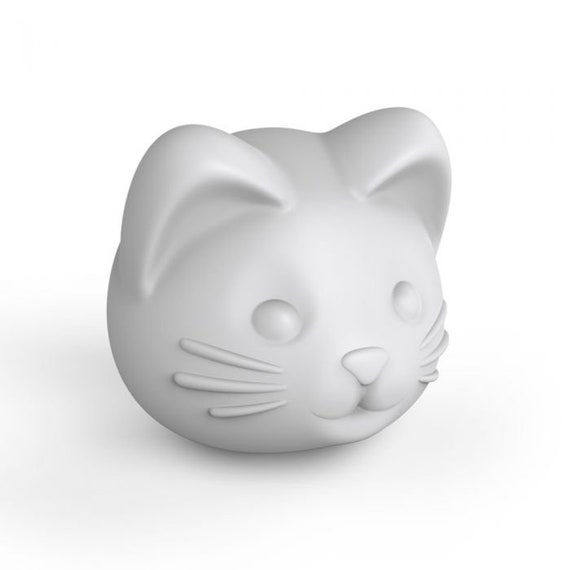 Cat Head Ice Mold