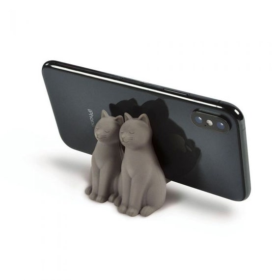 Phone Grip/ Kickstand- CatCall /Grey Cats