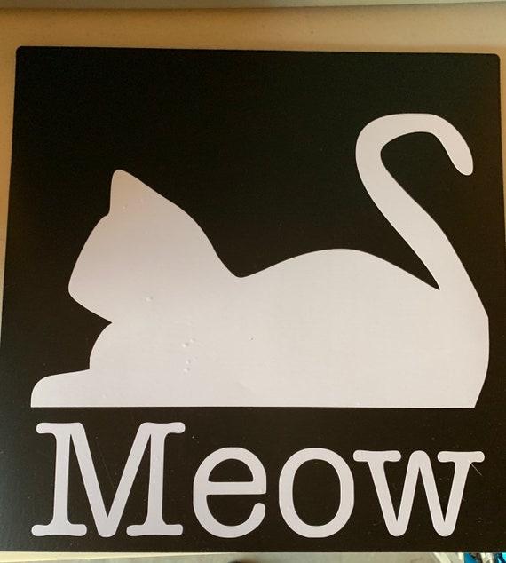 Food Mat- MEOW