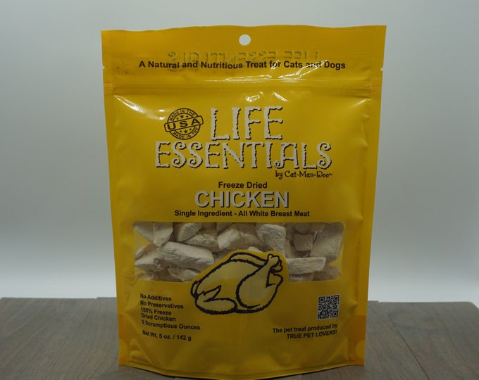 Organic Freeze Dried Chicken Cat Treats