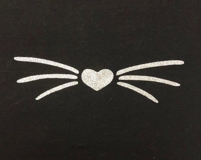 Women's Whisker T-Shirt- Silver Whisker