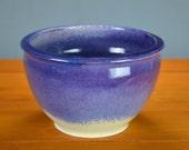 Purple White Ceramic Planter Pot, Hand Thrown Porcelain, Flower Pot, Succulent, Air Plant, Herb Garden, Container, Indoor Caldwell Pottery
