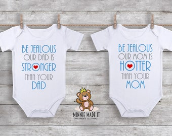 Twice The Smilesdouble The Cuddles Matching Twins Onesies Etsy