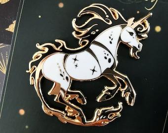 Unicorn Hard Enamel Pin