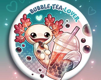 Bubble Tea lover buttons & Magnets