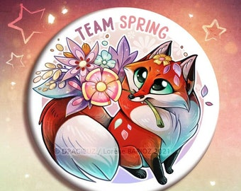 Team Spring buttons & Magnets