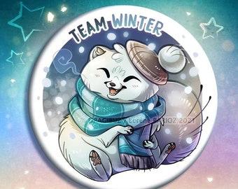 Team Winter buttons & Magnets
