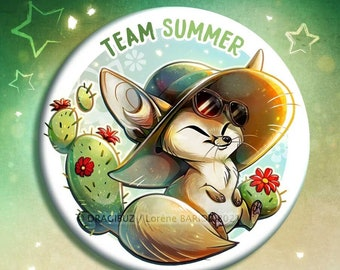 Team Summer buttons & Magnets