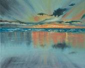 Seascape canvas giclee pr...