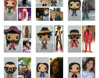 Custom Funko Pop Figure Male or Female; Front of Box Decorated Only *Please Read Item Description Before Ordering**