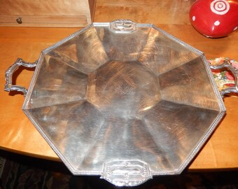 PAIRPOINT SERVING TRAY