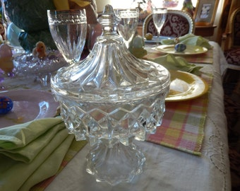 VINTAGE COMPOTE with LID