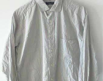 87fe07e6568 Rare Vintage Christian Dior Monsieur Shirt Size L