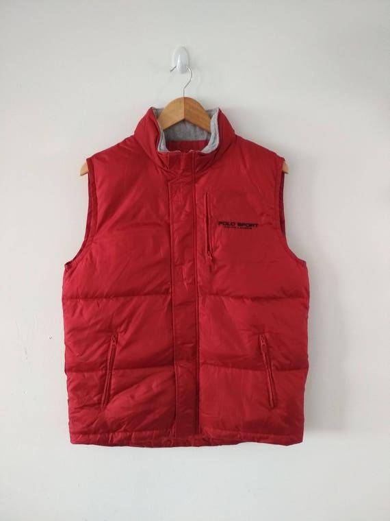Rare Vintage POLO SPORT Ralph Lauren Vest Size M