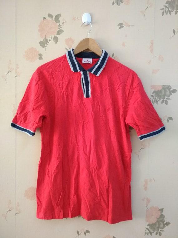 Vintage Men's HAI SPORTING GEAR Polo Tshirt M Size