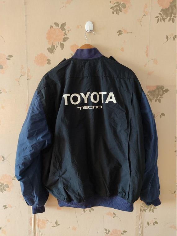 Vintage TOYOTA TECNO JACKET L Size