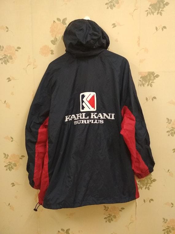 Vintage Karl Kani Jeans Windbreaker Hoodei Jacket