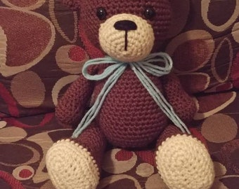 Teddy Bear, Bear, Handmade Toy, Teddy, Companion