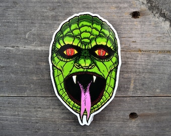 Reptilian Vinyl Sticker