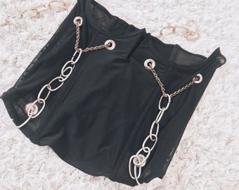 She'll Get Hers Chain Corset