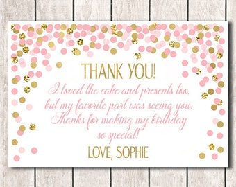 Personalized Thank You Cards Etsy
