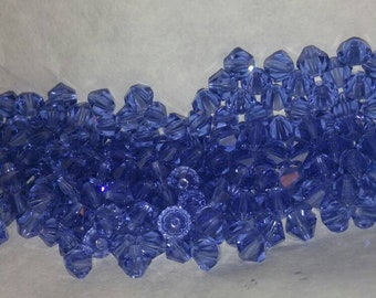 80-6 MM Tanzanite Swarovski bicones