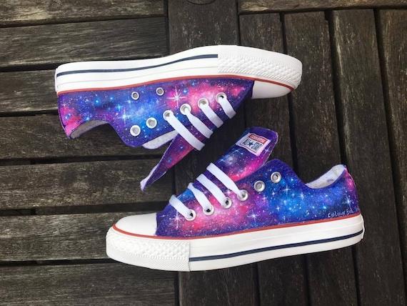 Galaxy Converse | Etsy