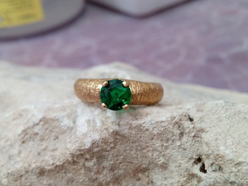 mothers ring,14k gold filled,engagement ring Emerald ring SALE stackable birthstone ring delicate ring,May birthstone gold ring