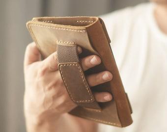 Leather kindle case   Etsy