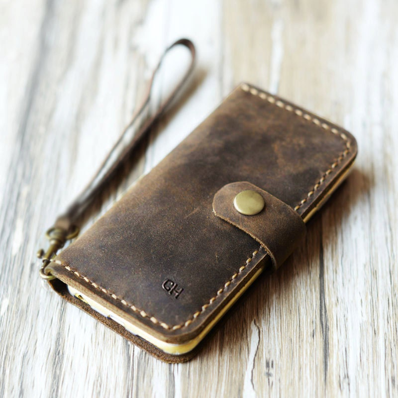 new product 19327 361a3 wristlet Strap iPhone x / 8 / 8 Plus, iPhone 7 / 7 Plus Leather Case Wallet  iPhone Xs Max Wallet Case iPhone XR Wallet Case