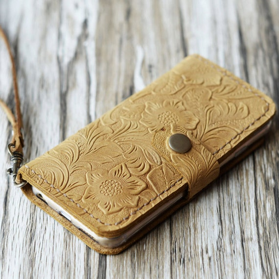 Tooled Leather Look XS. Slim Phone Case for iPhone X